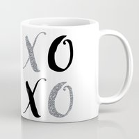 xoxo Mugs featuring XOXO by Indulge My Heart