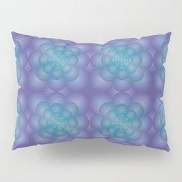 PERIWINKLE MANDALA Pillow Sham