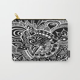 Rebirth Zentangle Carry-All Pouch
