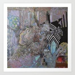 Dimensional Medium  Art Print