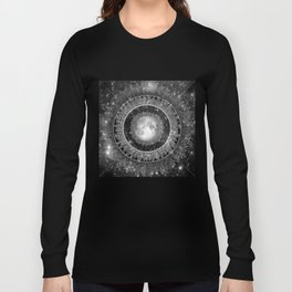 Major Tom (floating in my tin can, far above the Moon) Long Sleeve T-shirt