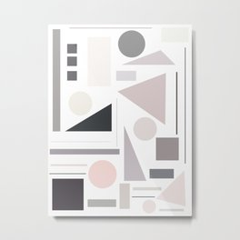 AX-ROW Metal Print