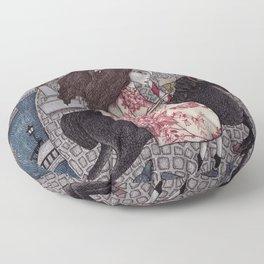 My Summer Days Floor Pillow
