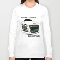 audi Long Sleeve T-shirts featuring Zaklassic - Z-06A by Zak Ashton