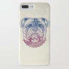 Gritty Bulldog iPhone 7 Plus Slim Case