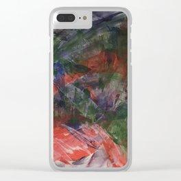 O.T. Abstrakt Acryl Clear iPhone Case