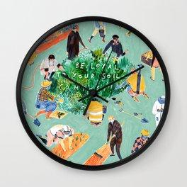 Compost Awareness Week Wall Clock