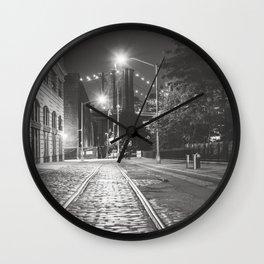 Dumbo Nights Wall Clock