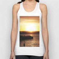 san diego Tank Tops featuring San Diego Sunset by Tdrisk46