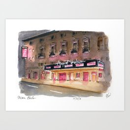 Mean Girls - August Wilson Theater Marquee Art Print