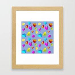 little heart,Herzchen Framed Art Print