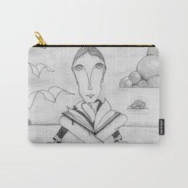 Reading enhances creativity Carry-All Pouch