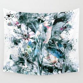 PARROT SPLASH Wall Tapestry
