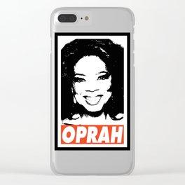 OPRAH Clear iPhone Case