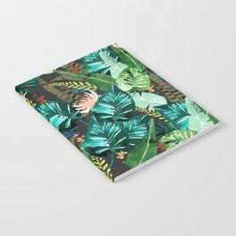Tropical Dark Notebook