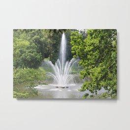 Amazing Fountain Metal Print
