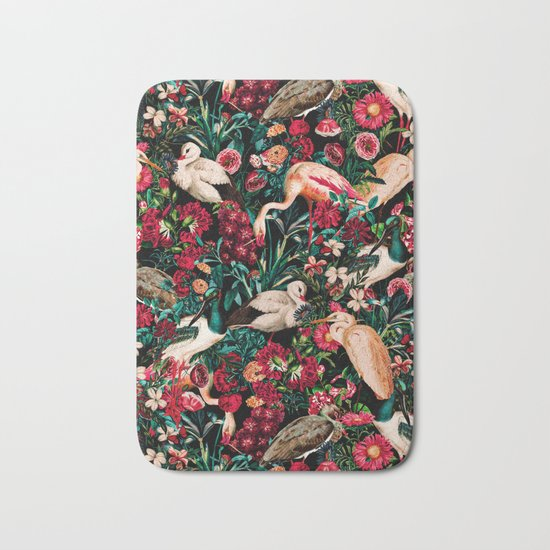 Long Leggend Birds II Bath Mat