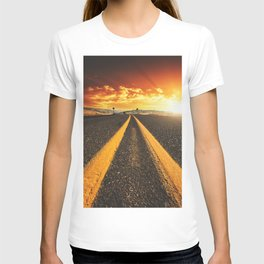 oregon road at dusk T-shirt