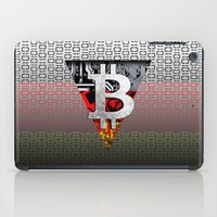 germany iPad Cases featuring bitcoin germany by seb mcnulty