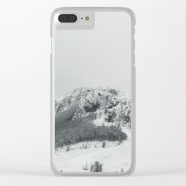 Mountain Postak Clear iPhone Case