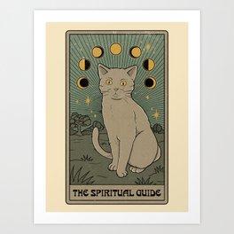 The Spiritual Guide Art Print