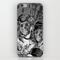 sister iPhone & iPod Skins featuring SISTER  by DIVIDUS