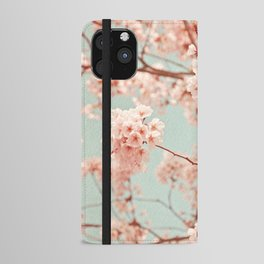 blossoms all over iPhone Wallet Case