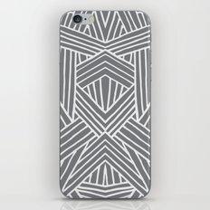 InterLines Gray iPhone & iPod Skin