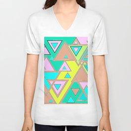 Triangles Unisex V-Neck