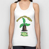 warcraft Tank Tops featuring Banana Energy Co. by SmallWheel