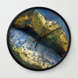Golden Kiss Wall Clock