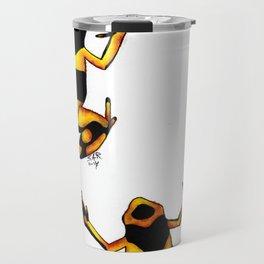 Leucomelas Travel Mug