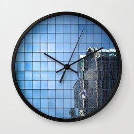 the matrix (color) Wall Clock
