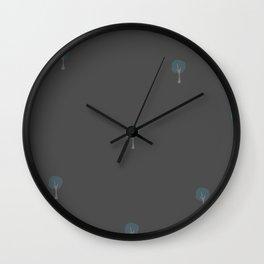 Cute Tree Pattern Wall Clock