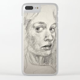 Florence, drawing Clear iPhone Case