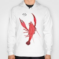 cancer Hoodies featuring Cancer by Rejdzy