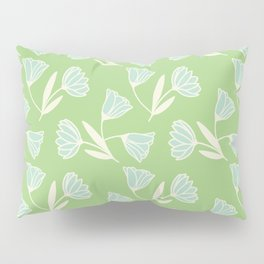 Flowers and wind Pillow Sham