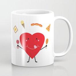 Hungry Heart Coffee Mug