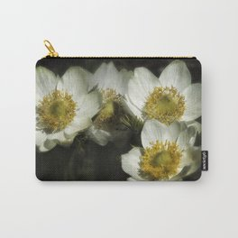 Pasque Flowers Carry-All Pouch