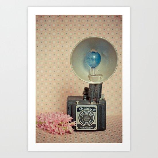 Traveler 120 Vintage Camera Art Print