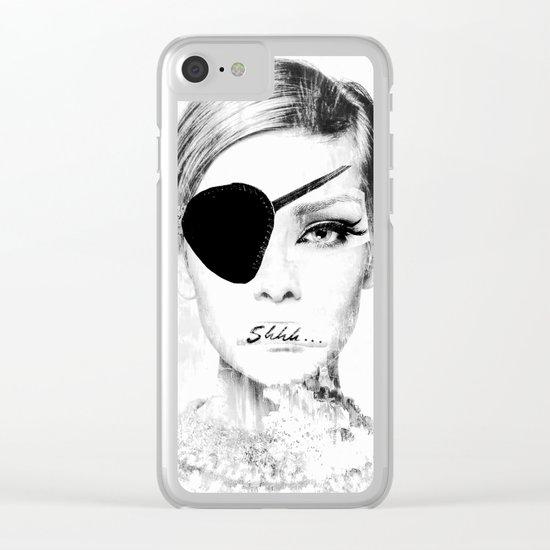 shhh... Clear iPhone Case
