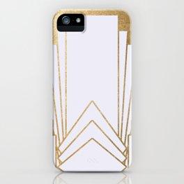 Art Deco design - blonde iPhone Case