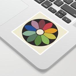 James Ward's Chromatic Circle Sticker