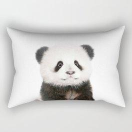 Baby Panda Portrait Rectangular Pillow