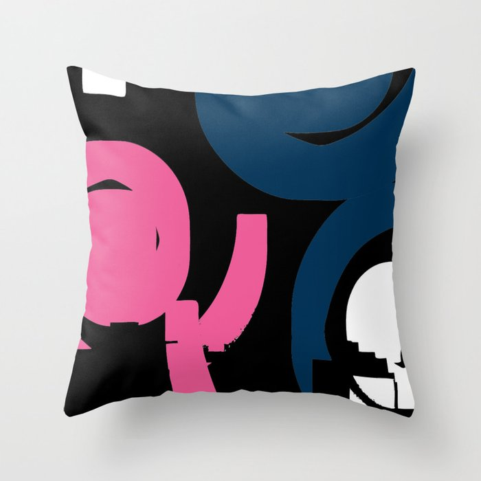 tisch f r zwei throw pillow by artdekay880 society6. Black Bedroom Furniture Sets. Home Design Ideas