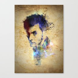 David Tennant - Doctor Who #10 Canvas Print