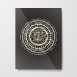 Floral Rings III Metal Print