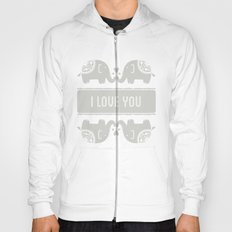 Elephant Love Hoody