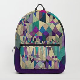 Purple Town Backpack