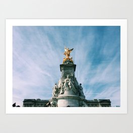 London Buckingham Palace Art Print